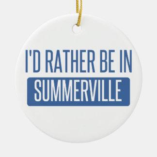 Ornamento De Cerâmica Summerville