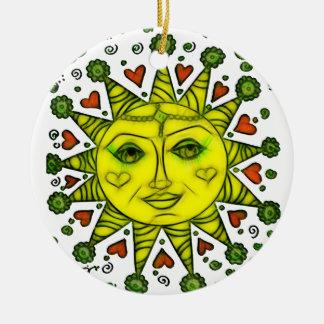 Ornamento De Cerâmica Sunhine 2a