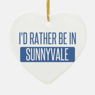 Ornamento De Cerâmica Sunnyvale