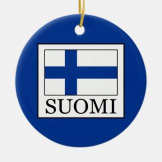 Ornamento De Cerâmica Suomi
