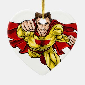 Ornamento De Cerâmica Super-herói