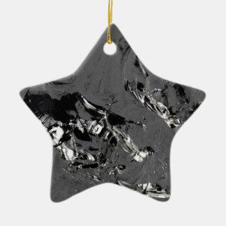 Ornamento De Cerâmica Superfície de cristais puros do silicone