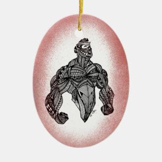 Ornamento De Cerâmica Suporte alto