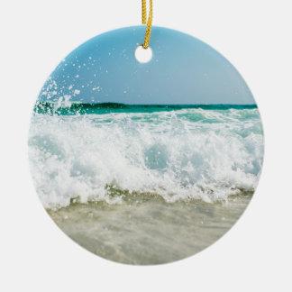 Ornamento De Cerâmica surf