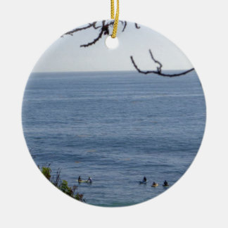 Ornamento De Cerâmica surf da praia de laguna