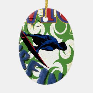 Ornamento De Cerâmica surfar tribal