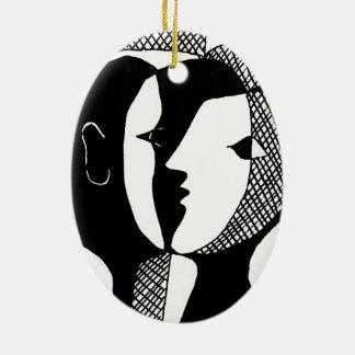 Ornamento De Cerâmica Sussurro do amor