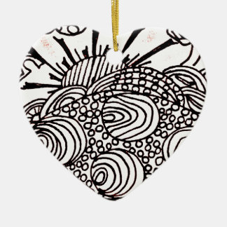 Ornamento De Cerâmica swirlysun