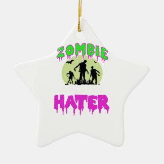 Ornamento De Cerâmica T do zombi