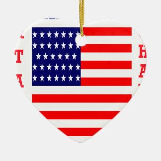 Ornamento De Cerâmica T-shirt das nações