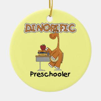 Ornamento De Cerâmica T-shirt e presentes do Preschooler de Dinorific