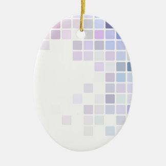 Ornamento De Cerâmica Tabuleiro de damas violeta