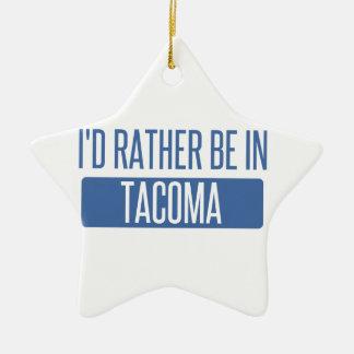 Ornamento De Cerâmica Tacoma