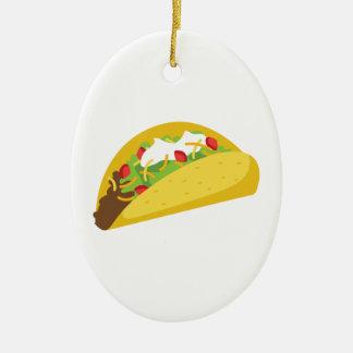 Ornamento De Cerâmica Tacos