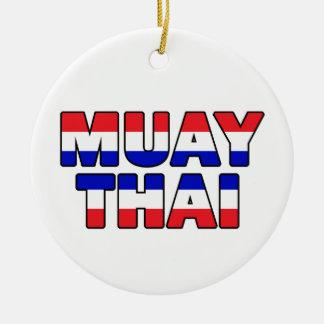 Ornamento De Cerâmica Tailandês de Muay