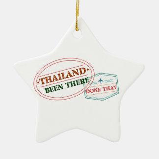 Ornamento De Cerâmica Tailândia feito lá isso