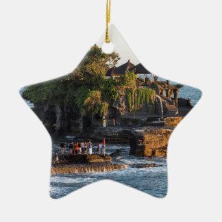 Ornamento De Cerâmica Tanah-Lote Bali Indonésia