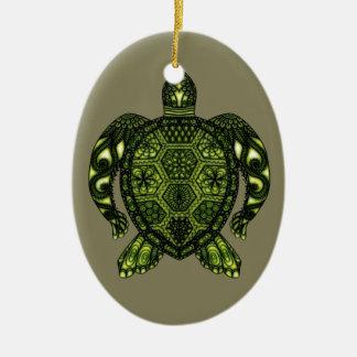 Ornamento De Cerâmica Tartaruga 2b