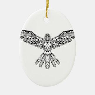 Ornamento De Cerâmica Tatuagem tribal da pomba