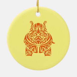 Ornamento De Cerâmica Tatuagens tribais Exquisitely brincalhão