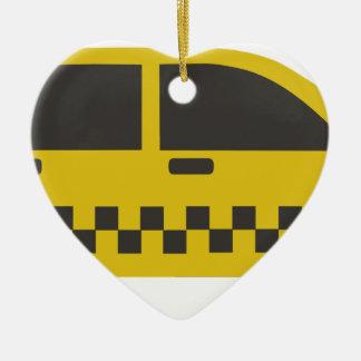 Ornamento De Cerâmica Táxi de táxi de New York