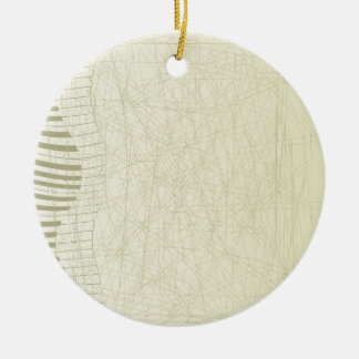Ornamento De Cerâmica Teclado abstrato