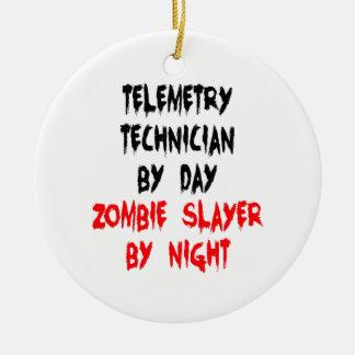 Ornamento De Cerâmica Técnico da telemetria do assassino do zombi