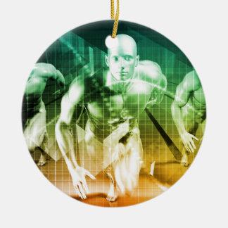 Ornamento De Cerâmica Tecnologia avançada como ELE fundo do conceito