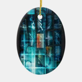 Ornamento De Cerâmica Tecnologia da informação ou ELE Infotech como uma