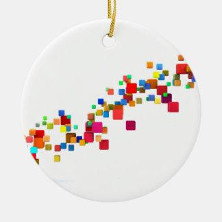 Ornamento De Cerâmica Tecnologia de Blockchain como um negócio criativo