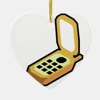 Ornamento De Cerâmica Telefone do sacudir
