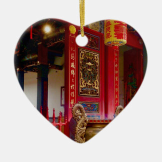Ornamento De Cerâmica Templo em Yilan, Formosa