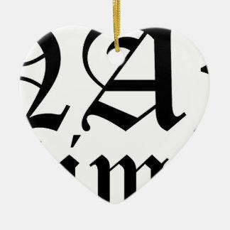 Ornamento De Cerâmica Tempo da sesta