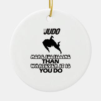 Ornamento De Cerâmica Tendendo o DESIGN do judo