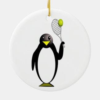 Ornamento De Cerâmica Tênis do pinguim