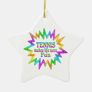 Ornamento De Cerâmica Tênis mais divertimento