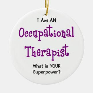 Ornamento De Cerâmica terapeuta ocupacional