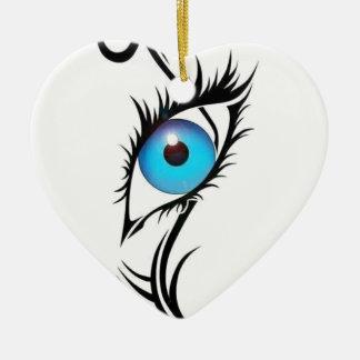 Ornamento De Cerâmica Terceiro olho