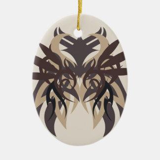 Ornamento De Cerâmica Terra da abstracção quatro