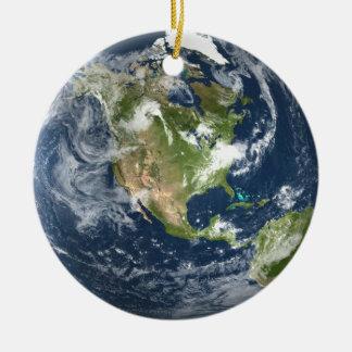 Ornamento De Cerâmica Terra do planeta