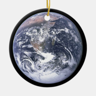 Ornamento De Cerâmica Terra do planeta - nosso mundo