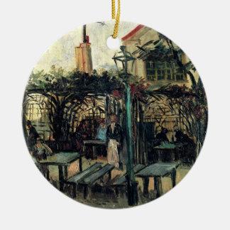 Ornamento De Cerâmica Terraço de Van Gogh de um café em Montmartre,