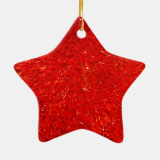 Ornamento De Cerâmica Teste padrão brilhante chique festivo da cor