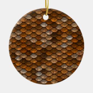 Ornamento De Cerâmica Teste padrão da escala