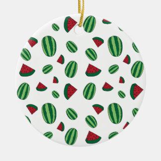 Ornamento De Cerâmica Teste padrão da melancia