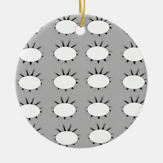 Ornamento De Cerâmica Teste padrão de flor