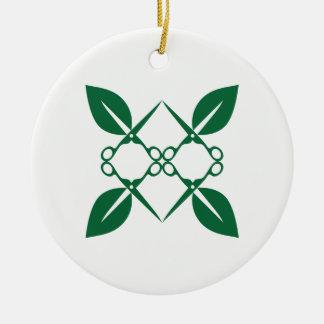 Ornamento De Cerâmica Teste padrão de jardinagem