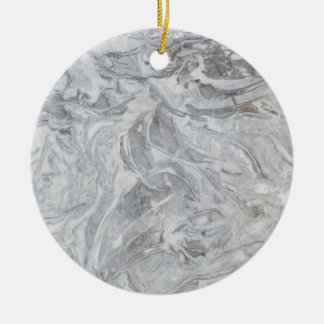 Ornamento De Cerâmica Teste padrão de mármore
