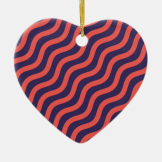 Ornamento De Cerâmica Teste padrão de onda geométrico abstrato