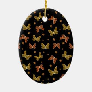 Ornamento De Cerâmica Teste padrão do motivo dos insetos